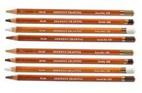 Derwent soft drawing pencils per stuk