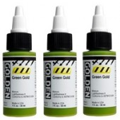 Golden high flow acryl flacon 30 ml.