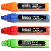 Liquitex artists acryl markers 8-15 mm.