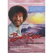 Bob Ross 6.5 uur 3 DVD´s seascapes collection
