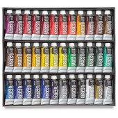 Liquitex basics acrylset 36 tuben 22 ml.