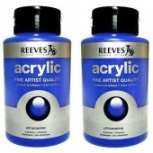 Reeves fine art acryl flac. 400 ml.