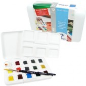 Van Gogh aquarelverf pocket box 15 napjes + 1 penseel