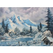 Bob Ross DVD winter harmony