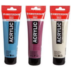 Spectaculaire aanbieding: Amsterdam acryl tube 120 ml.