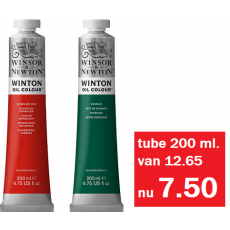 Winton olieverf tube 200 ml.