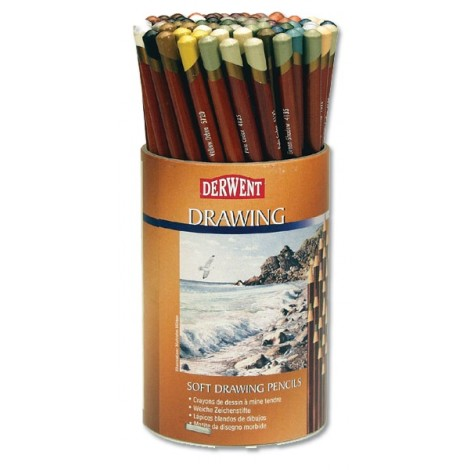 Derwent soft drawing potloden losse kleuren