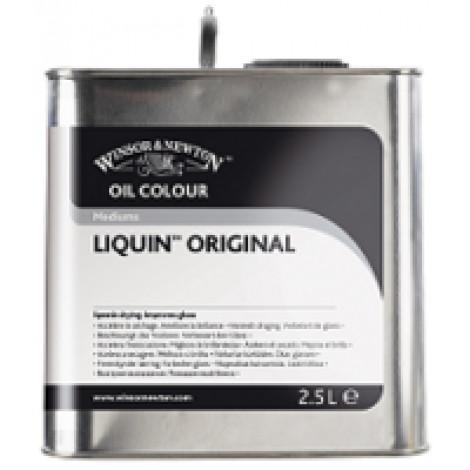 W&N liquin original medium - flacon 2500 ml.