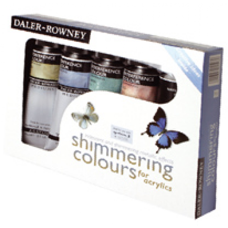 Daler Rowney shimmering colours set