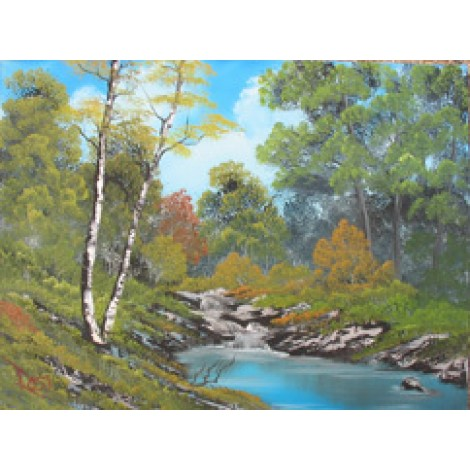 Bob Ross DVD autumn stream