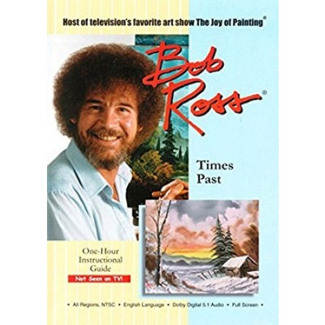 Bob Ross DVD times past