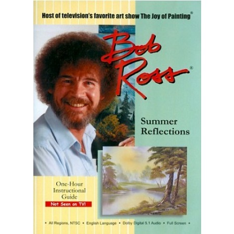 Bob Ross DVD summer reflection