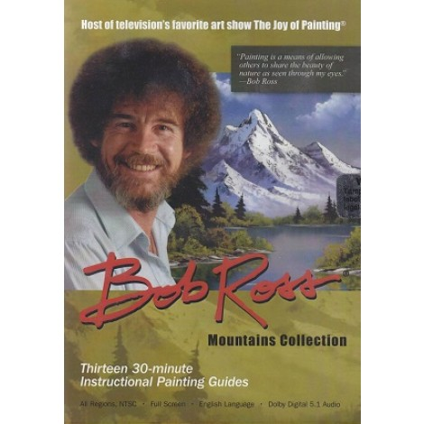 Bob Ross 6.5 uur 3 DVD´s mountains collection