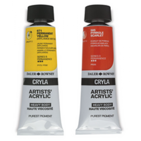 Cryla artists acryl tube 75 ml.