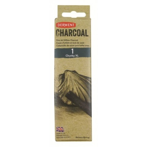 Derwent willow charcoal - 1 st. houtskool chunky (16 - 24 mm.)