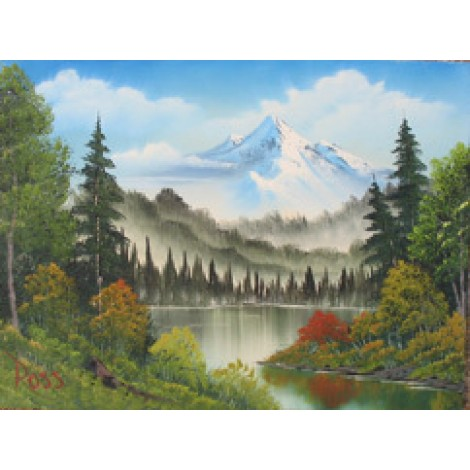 Bob Ross DVD grandeur of summer