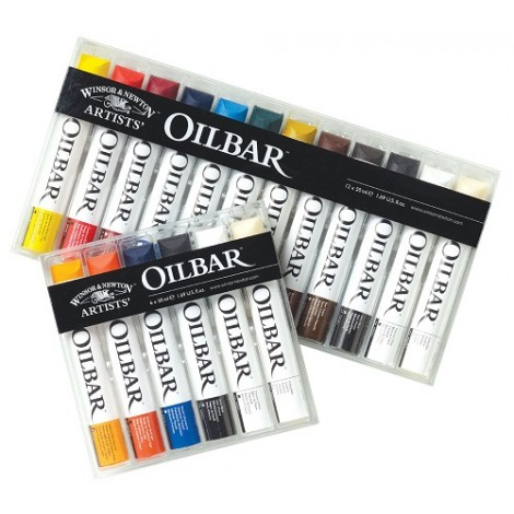 W&N Oilbar set - 12 kleuren