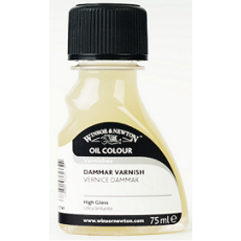 W&N dammar vernis - flacon 75 ml.