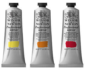 Winsor & Newton artists acrylverf