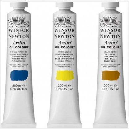 Winsor & Newton artists' olieverf tube 200 ml