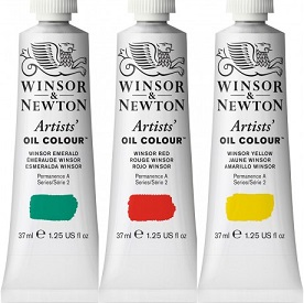 Winsor & Newton artists' olieverf tube 37 ml