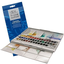 W&N cotman plus sets