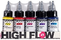 Golden high flow acryl sets