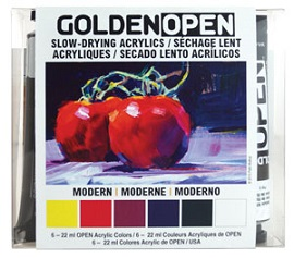 Golden Open Acrylics sets