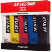 Amsterdam acryl primary set 5 x 120 ml.
