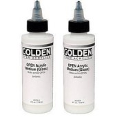 Golden Open acrylmedium glans