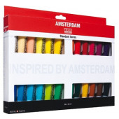 Amsterdam acryl set 24 x 20 ml.