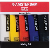 Amsterdam acryl mixing set 5 x 120 ml.
