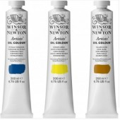 Winsor & Newton artists' olieverf tube 200 ml.