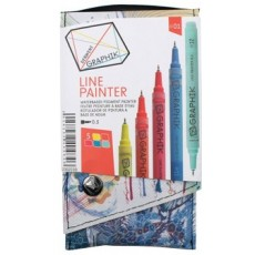 Derwent Graphik line painters set 1