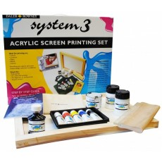 System 3 screen printing set