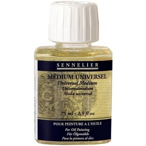 Sennelier universeel medium flacon 75 ml.