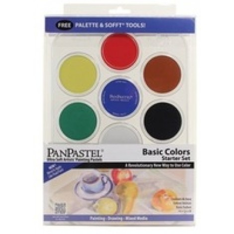 PanPastel basic colors kit