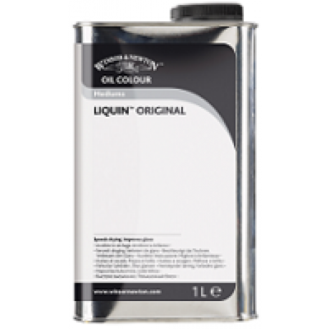 W&N liquin original medium - flacon 1000 ml.