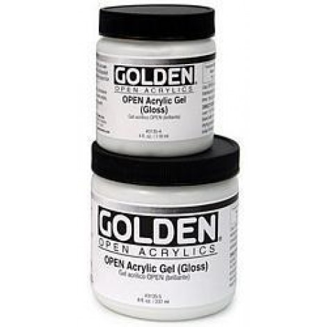 Golden Open acrylgel glans