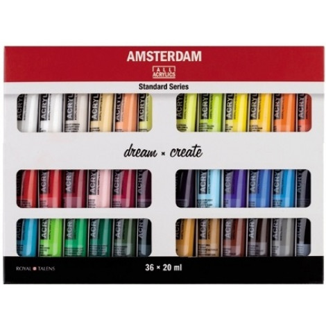 Amsterdam acryl set 36 x 20 ml.