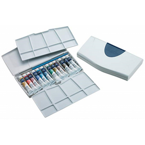 W&N Cotman PLUS aquareldoos 12x 8 ml.