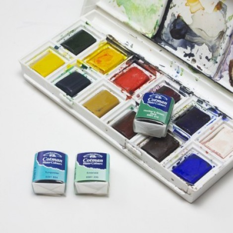 WN cotman aquarel napje