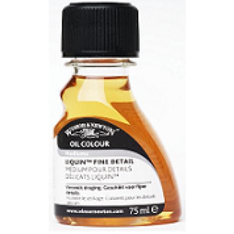 W&N liquin fine detail medium - flacon 75 ml.
